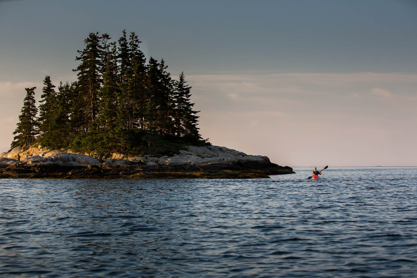 Sea Kayaking- Friendship, Maine
